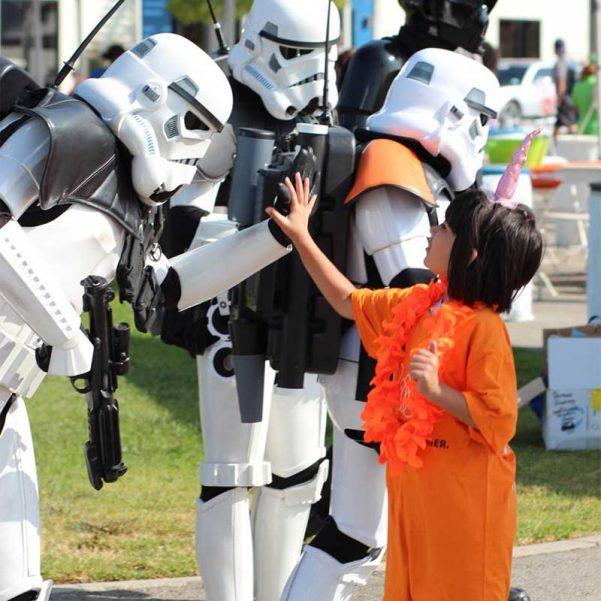 Friendly Stormtroopers by Scott Diebold
